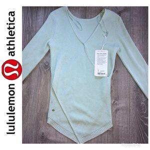 NWT Lululemon Wrap It Up Sweater Size 4
